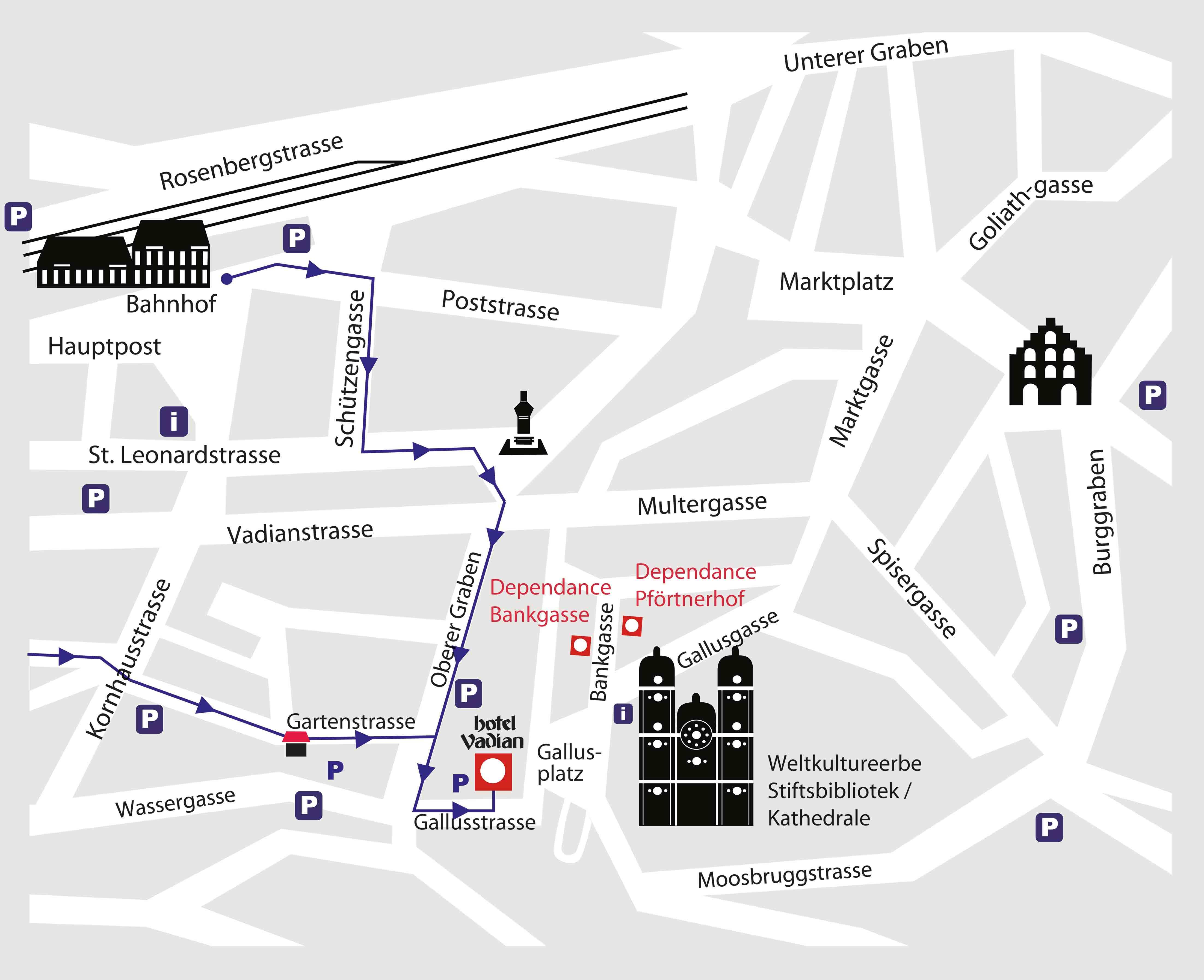 Hotel Einstein St Gallen Parken